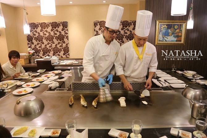 新北新莊美食│品爵創意料裡~鐵板燒大西洋龍蝦及南極冰魚海陸全餐在這裡