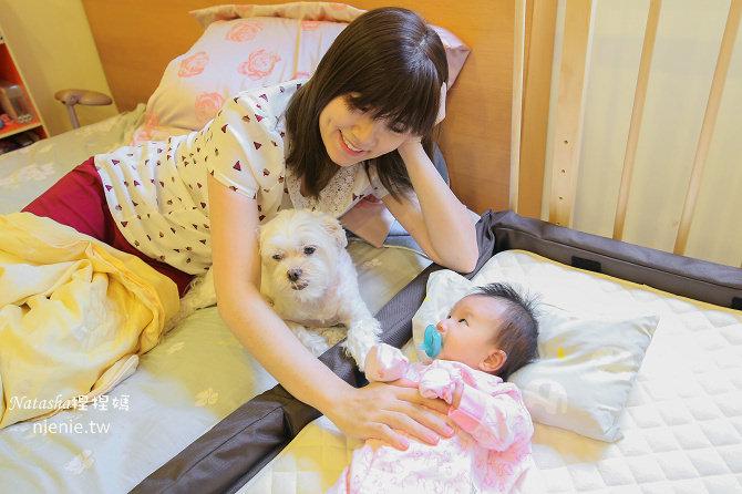媽媽都超需要的床邊床│日本farska親子共寢多功能嬰兒床+專用床墊組~可九段高度調整好實用
