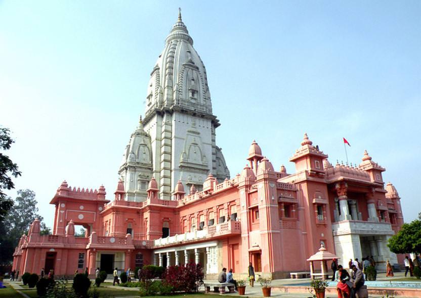 瓦拉納西景點-大學Banaras Hindu University-Vishwanath Temple濕婆新金廟