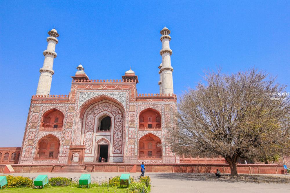 印度阿格拉Agra景點推薦│Sikandra錫坎德拉Akbar's tomb阿克巴大帝陵墓
