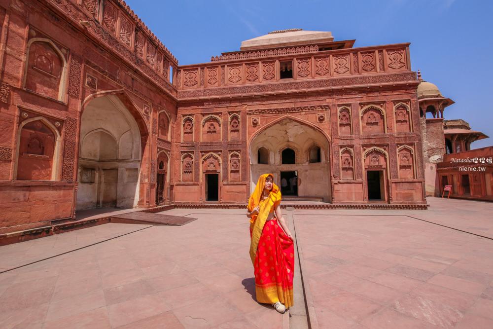 阿格拉景點 阿格拉堡Agra Fort+賈漢吉爾宮+珍珠清真寺~阿格拉最大景點