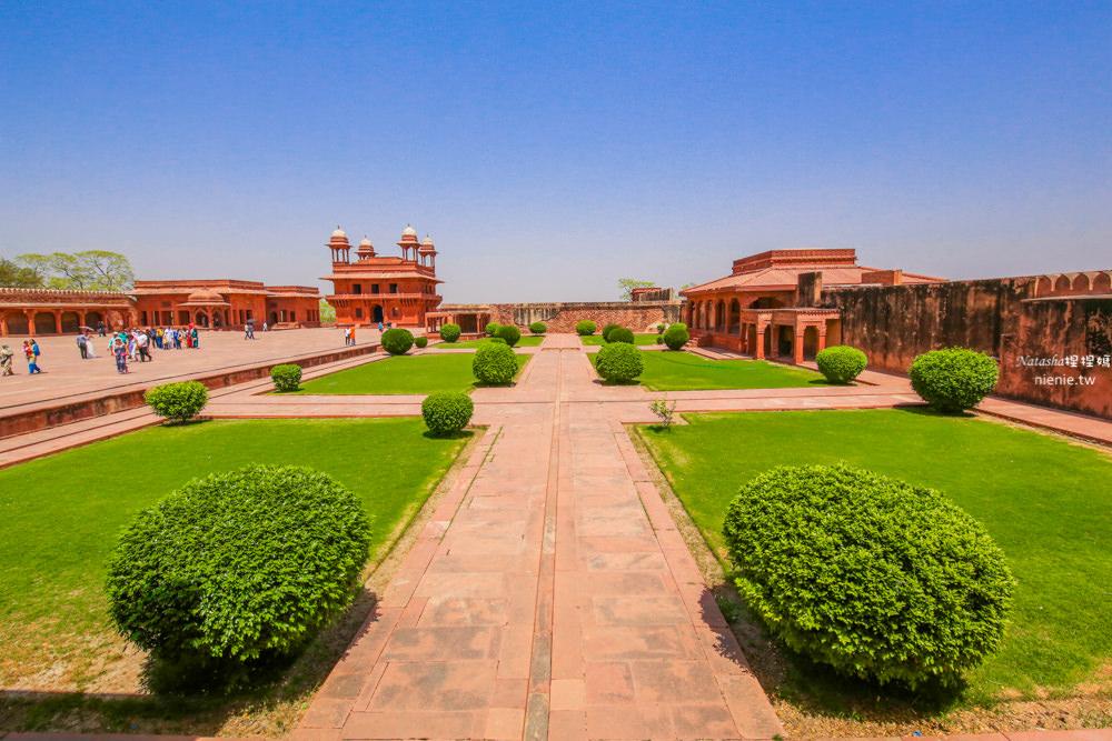勝利宮 Fatehpur Sikri│阿格拉景點。莫臥兒建築保存最為完好的世界遺產