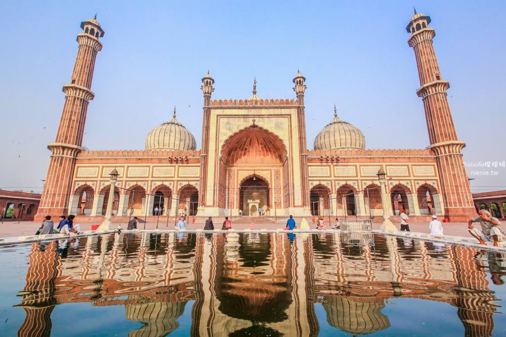 德里賈瑪清真寺 印度德里Delhi景點推薦│Jama Masjid~印度最大清真寺
