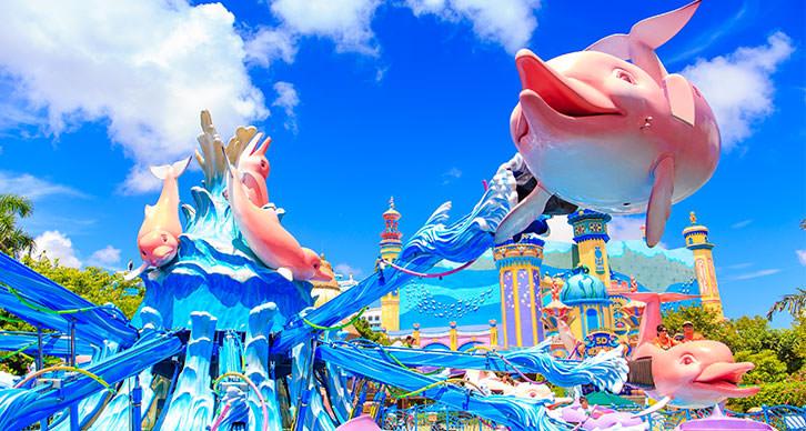 海洋王國海豚轉轉車