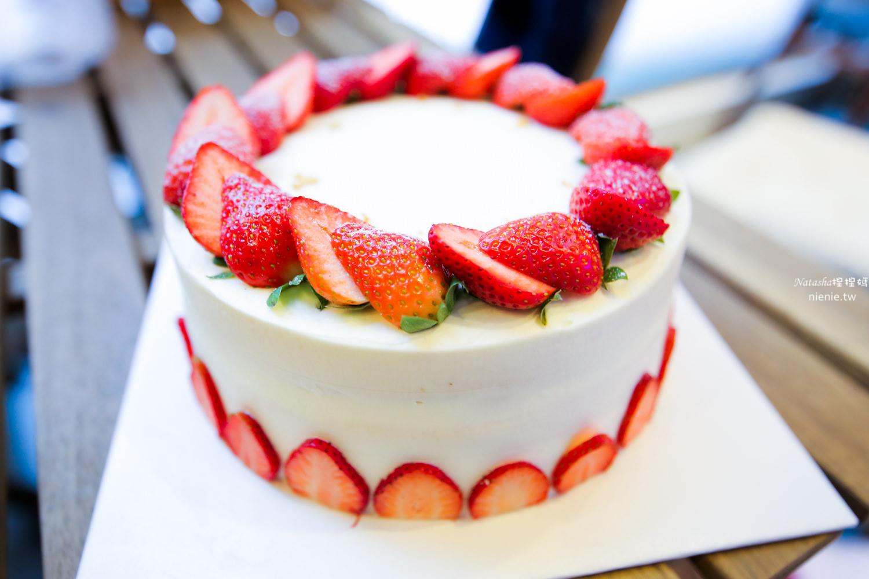 草莓蛋糕推薦 新北三重│吃甜。時~超受歡迎的復古早午餐下午茶店旺茶福
