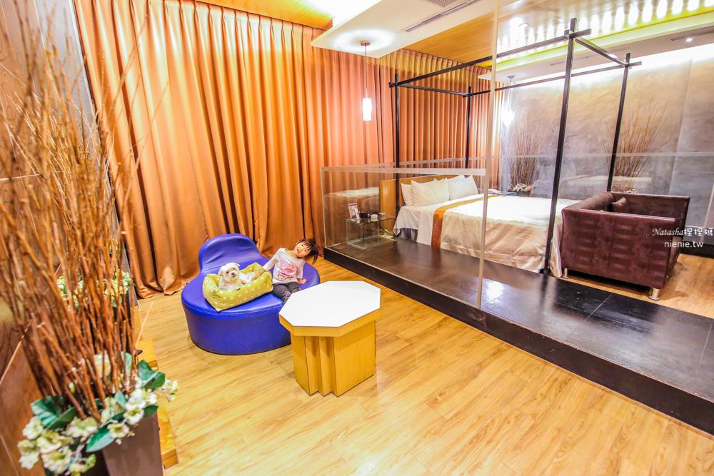 台中寵物友善住宿 朝馬秋紅谷 天月人文休閒汽車旅館~超大按摩浴缸蒸氣室