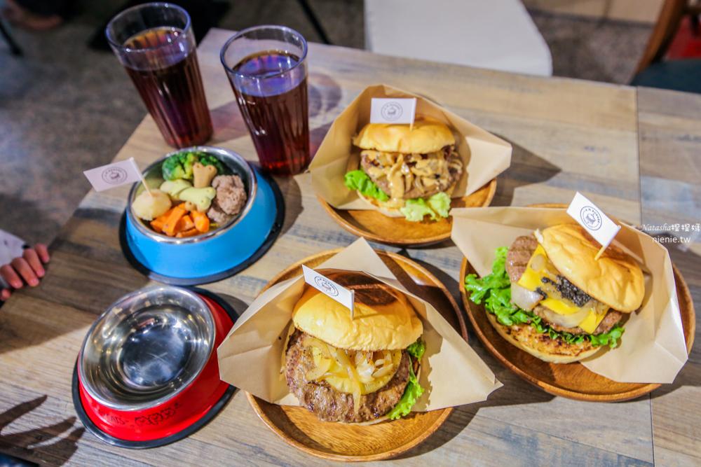 中和漢堡推薦 新開幕寵物友善餐廳 A.M. Burger 漢堡只要100元 打卡送紅茶