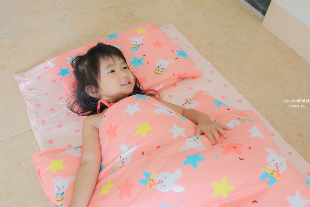 兒童睡袋 賽里絲兒童乳膠睡袋五件組~幼稚園睡袋推薦L型好收納乳膠睡袋