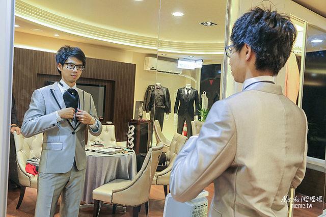 婚禮│西裝挑選│凡登西服~英國式合身版型西裝禮服租借首選也可選擇手工量身訂制專屬特色西裝05