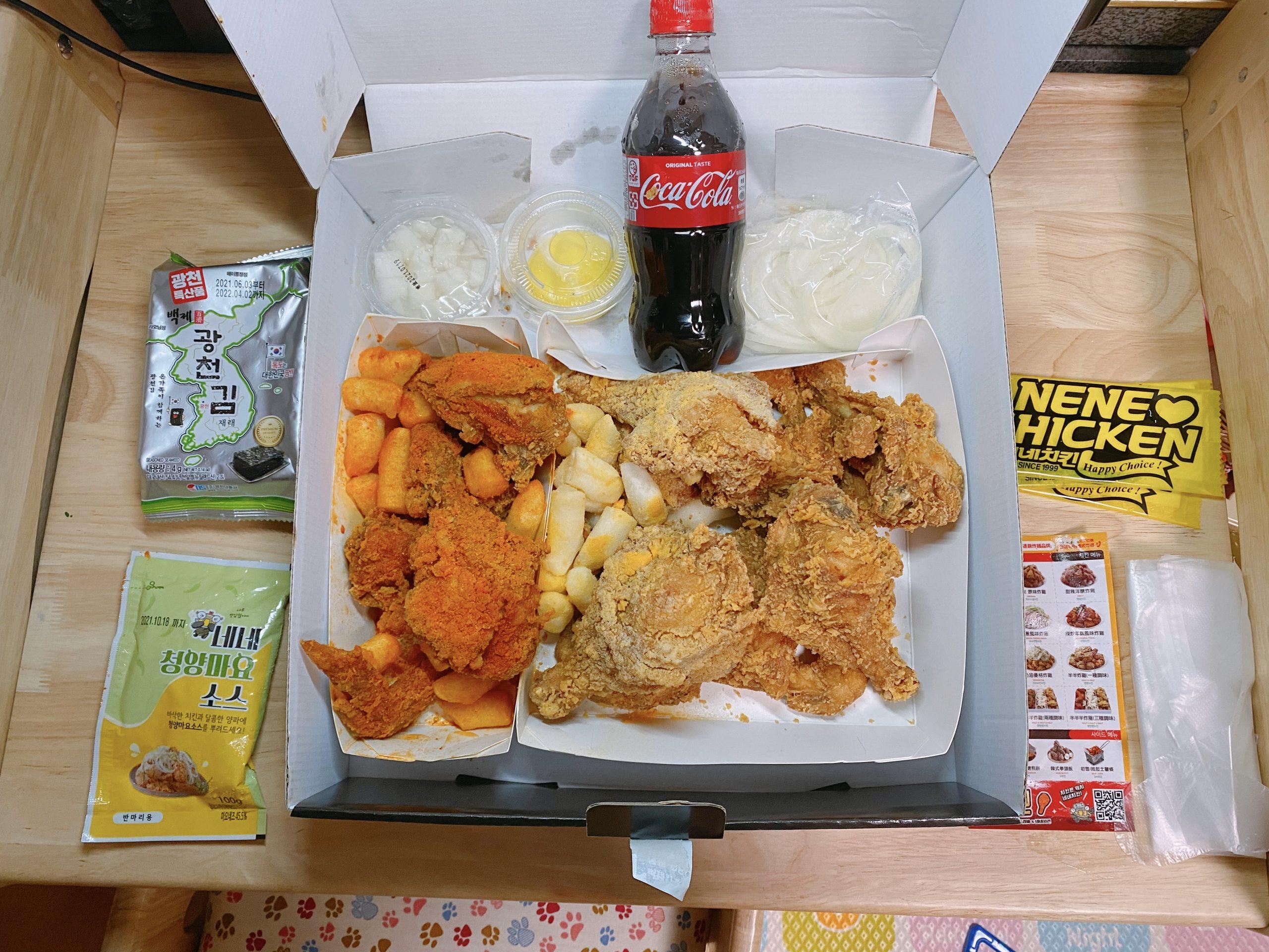 韓式炸雞推薦 NeNe Chicken~韓國最大連鎖炸雞品牌 全台22間店免外送費