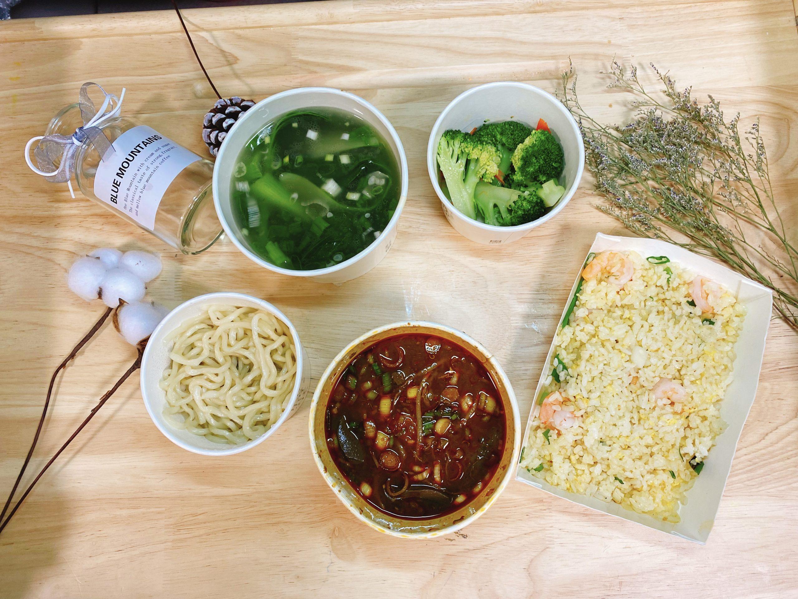 台北麻辣鴨血推薦 麻膳堂~雙人分享餐只要298元 有麵有飯還有一盤青花菜