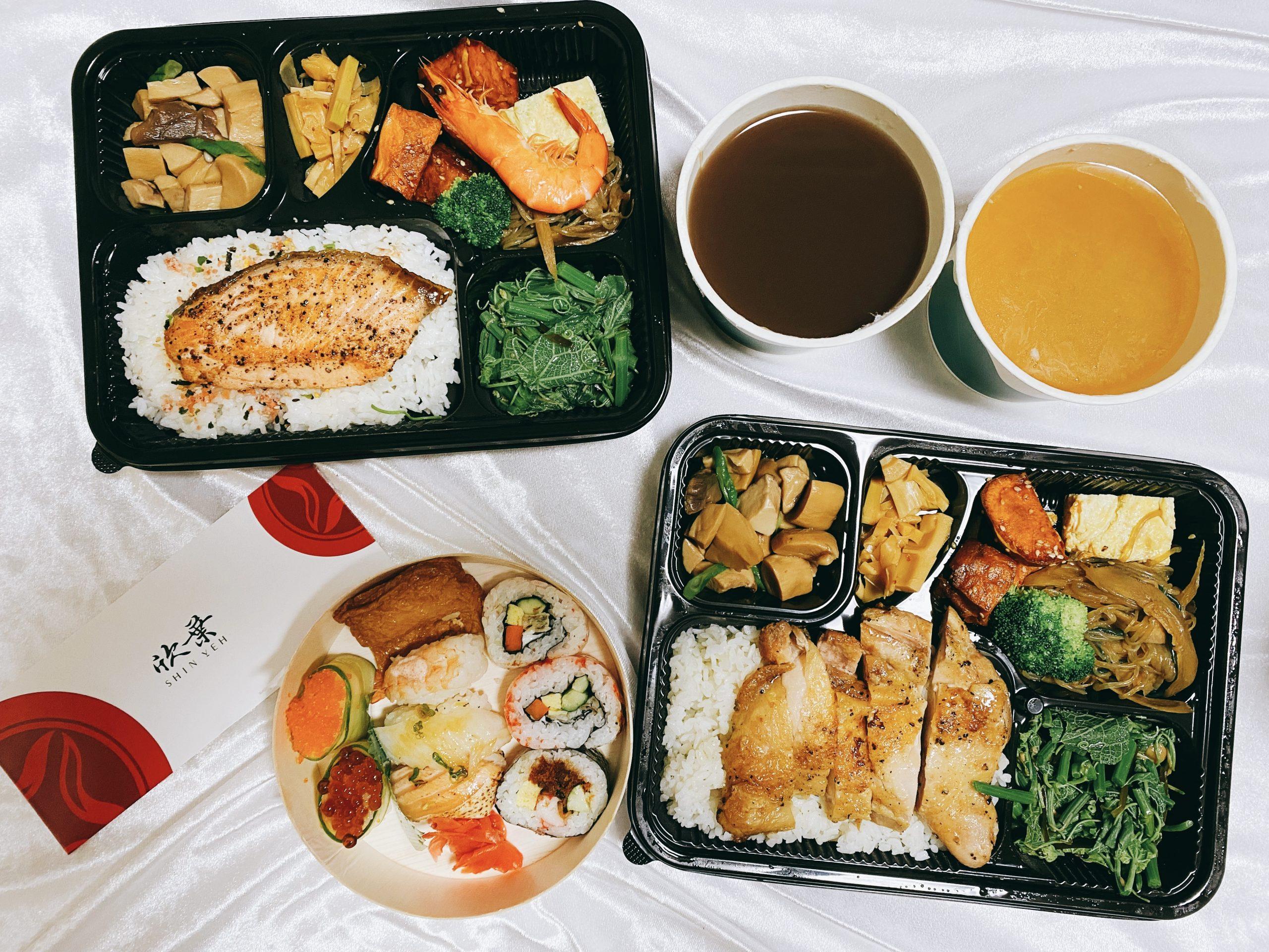 日本料理吃到飽 欣葉日本料理~日式壽司便當外帶89折。內用三款日式定食