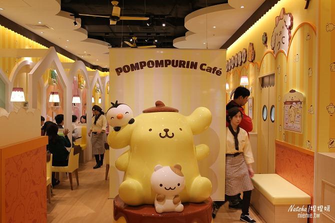 台北信義。捷運市府站美食│布丁狗餐廳POMPOMPURIN Cafe~台灣第一家布丁狗主題餐廳11