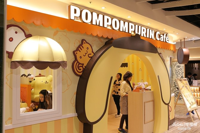 台北信義。捷運市府站美食│布丁狗餐廳POMPOMPURIN Cafe~台灣第一家布丁狗主題餐廳13