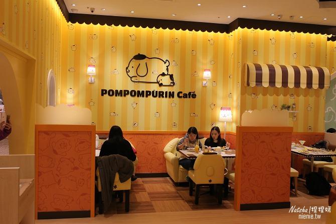 台北信義。捷運市府站美食│布丁狗餐廳POMPOMPURIN Cafe~台灣第一家布丁狗主題餐廳14