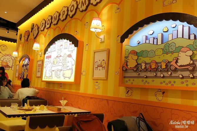 台北信義。捷運市府站美食│布丁狗餐廳POMPOMPURIN Cafe~台灣第一家布丁狗主題餐廳15