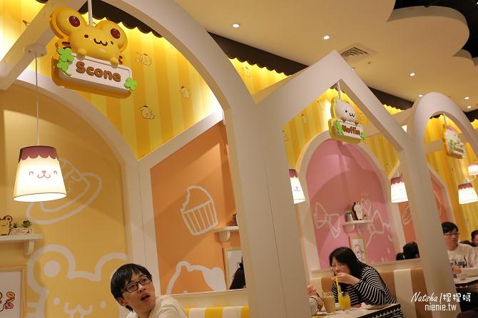 台北信義。捷運市府站美食│布丁狗餐廳POMPOMPURIN Cafe~台灣第一家布丁狗主題餐廳18