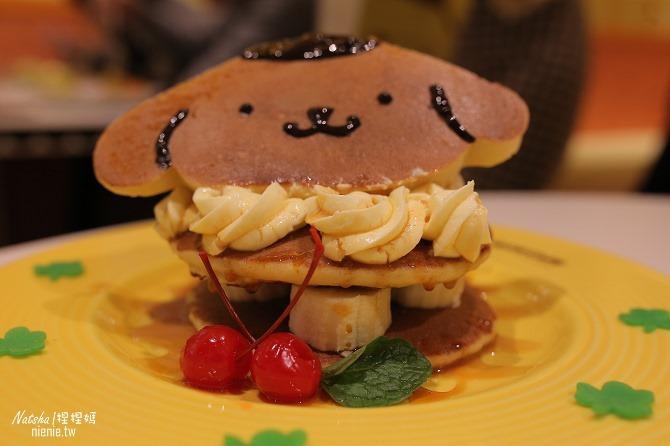 台北信義。捷運市府站美食│布丁狗餐廳POMPOMPURIN Cafe~台灣第一家布丁狗主題餐廳24