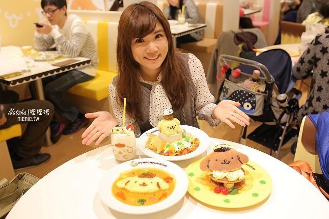 台北信義。捷運市府站美食│布丁狗餐廳POMPOMPURIN Cafe~台灣第一家布丁狗主題餐廳39