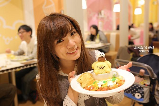 台北信義。捷運市府站美食│布丁狗餐廳POMPOMPURIN Cafe~台灣第一家布丁狗主題餐廳42