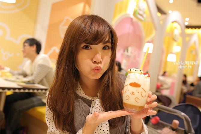 台北信義。捷運市府站美食│布丁狗餐廳POMPOMPURIN Cafe~台灣第一家布丁狗主題餐廳43