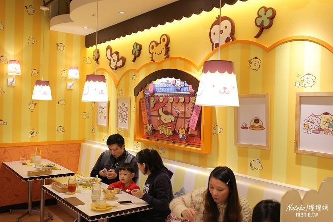 台北信義。捷運市府站美食│布丁狗餐廳POMPOMPURIN Cafe~台灣第一家布丁狗主題餐廳50