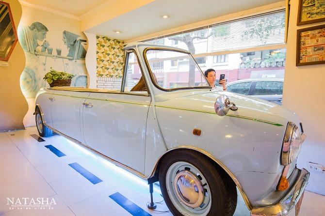 寵物友善餐廳│台北士林天母美食│PS BUBU汽車餐廳~坐在金龜車裡享用南加州義大利餐點(有提供寵物餐)05