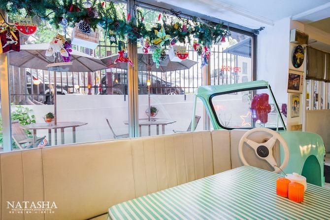 寵物友善餐廳│台北士林天母美食│PS BUBU汽車餐廳~坐在金龜車裡享用南加州義大利餐點(有提供寵物餐)13