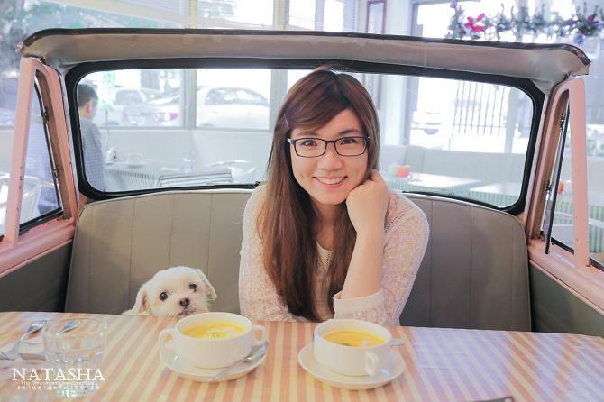 寵物友善餐廳│台北士林天母美食│PS BUBU汽車餐廳~坐在金龜車裡享用南加州義大利餐點(有提供寵物餐)15