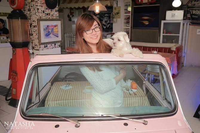 寵物友善餐廳│台北士林天母美食│PS BUBU汽車餐廳~坐在金龜車裡享用南加州義大利餐點(有提供寵物餐)16