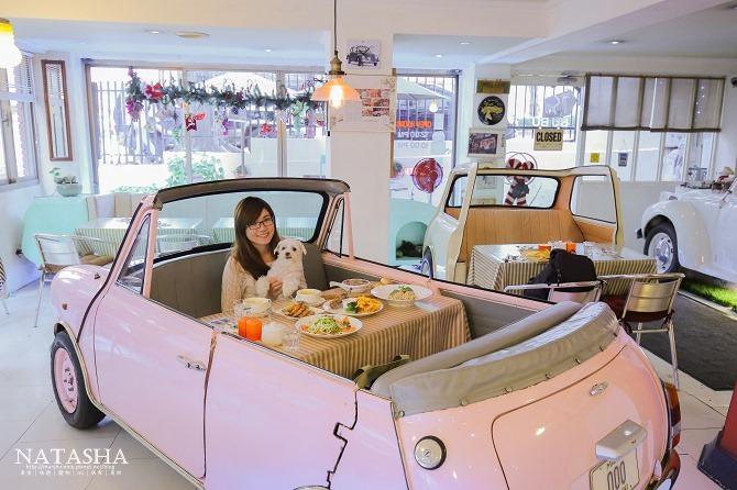 寵物友善餐廳│台北士林天母美食│PS BUBU汽車餐廳~坐在金龜車裡享用南加州義大利餐點(有提供寵物餐)40