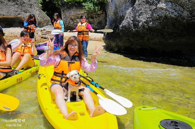 寵物旅遊│小琉球│和狗狗一起划獨木舟出海浮淺看海龜09