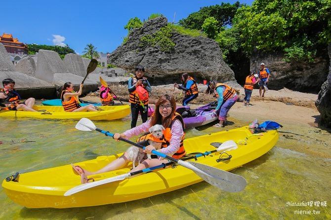 寵物旅遊│小琉球│和狗狗一起划獨木舟出海浮淺看海龜11