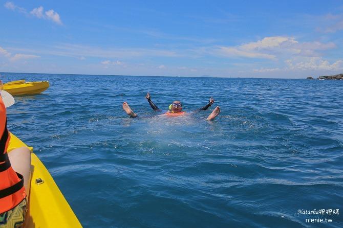 寵物旅遊│小琉球│和狗狗一起划獨木舟出海浮淺看海龜14
