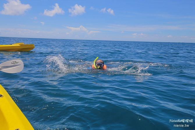 寵物旅遊│小琉球│和狗狗一起划獨木舟出海浮淺看海龜15