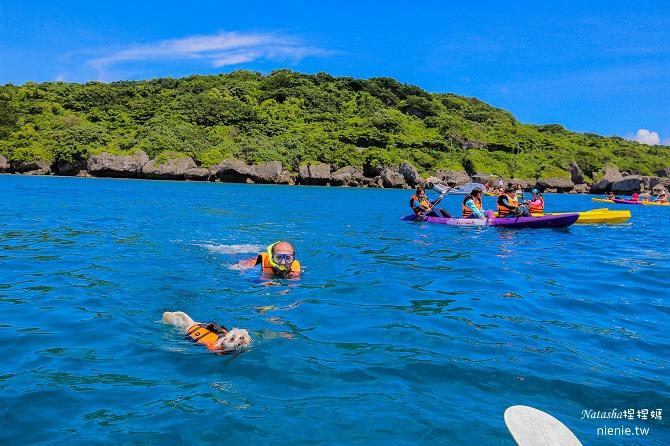 寵物旅遊│小琉球│和狗狗一起划獨木舟出海浮淺看海龜