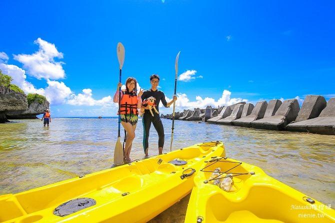 寵物旅遊│小琉球│和狗狗一起划獨木舟出海浮淺看海龜38