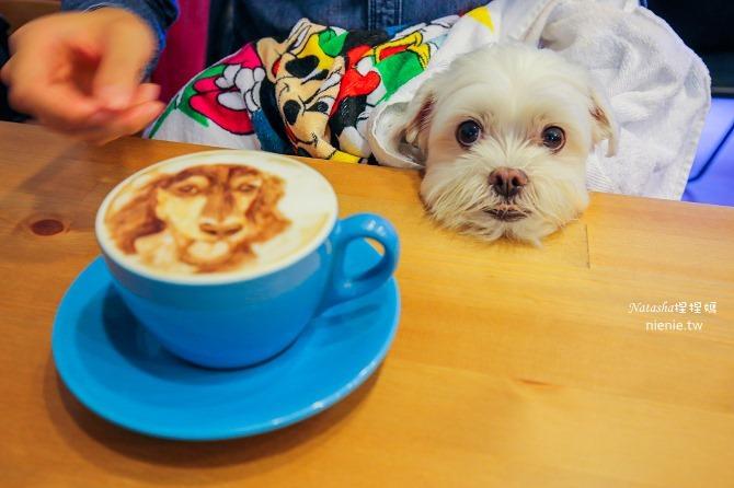 寵物友善餐廳│台北天母美食│Été café~全台最強寵物複刻拉花。也可指定人像或卡通拉花08