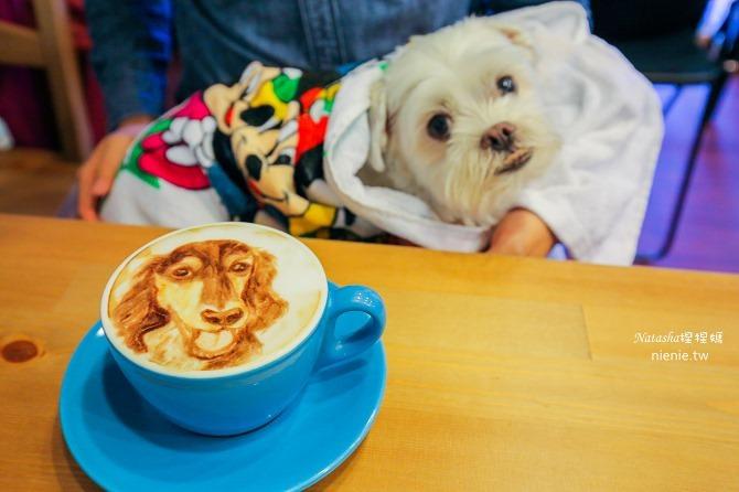 寵物友善餐廳│台北天母美食│Été café~全台最強寵物複刻拉花。也可指定人像或卡通拉花09