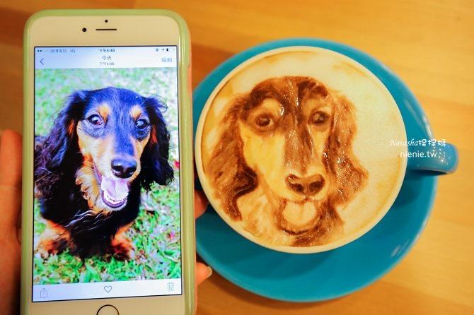 寵物友善餐廳│台北天母美食│Été café~全台最強寵物複刻拉花。也可指定人像或卡通拉花11