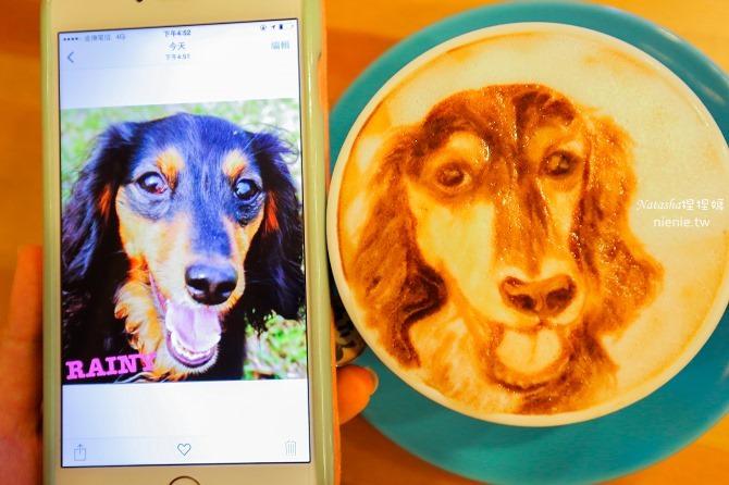 寵物友善餐廳│台北天母美食│Été café~全台最強寵物複刻拉花。也可指定人像或卡通拉花13