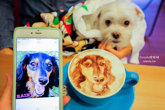 寵物友善餐廳│台北天母美食│Été café~全台最強寵物複刻拉花。也可指定人像或卡通拉花16