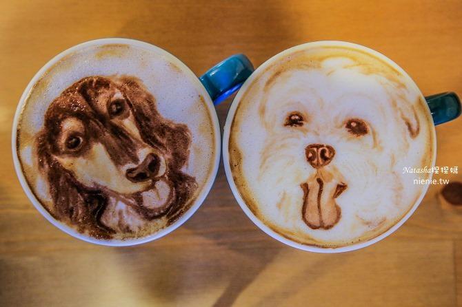 寵物友善餐廳│台北天母美食│Été café~全台最強寵物複刻拉花。也可指定人像或卡通拉花33