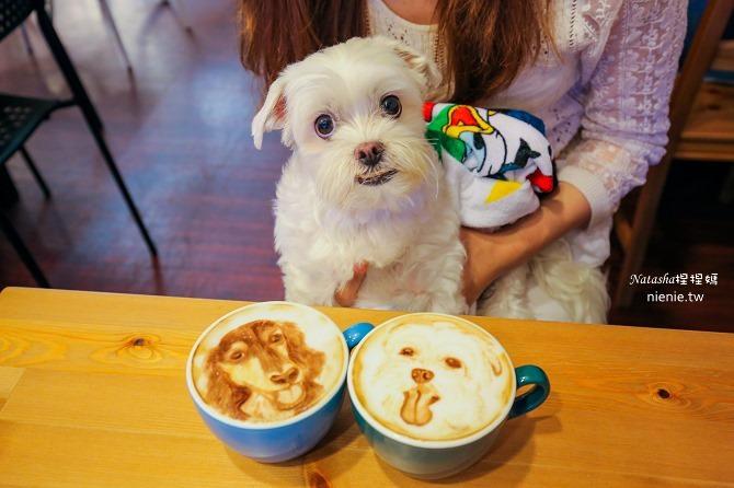 寵物友善餐廳│台北天母美食│Été café~全台最強寵物複刻拉花。也可指定人像或卡通拉花37
