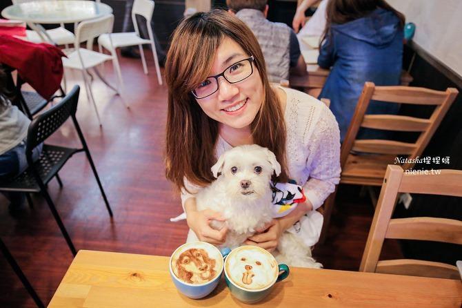 寵物友善餐廳│台北天母美食│Été café~全台最強寵物複刻拉花。也可指定人像或卡通拉花41