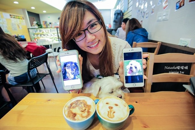 寵物友善餐廳│台北天母美食│Été café~全台最強寵物複刻拉花。也可指定人像或卡通拉花44