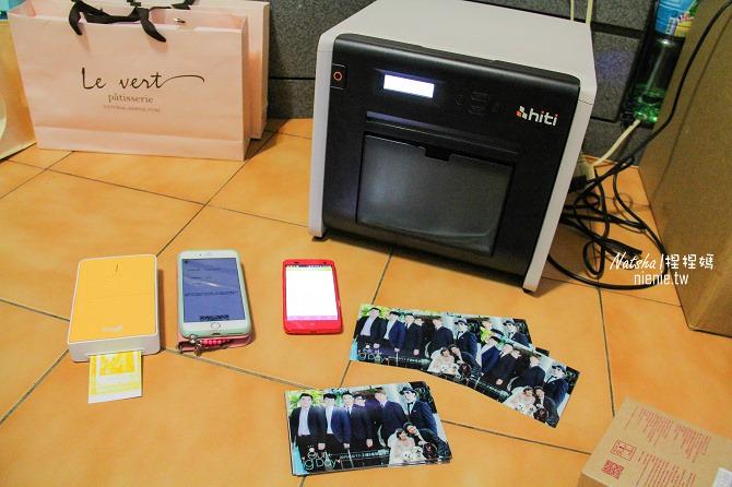 婚禮│賓客快拍機│Pringo-P232印相機讓你隨拍隨印。HiTi P520L客制化新人邊框快速列印11