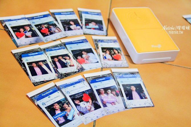 婚禮│賓客快拍機│Pringo-P232印相機讓你隨拍隨印。HiTi P520L客制化新人邊框快速列印30