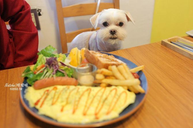 寵物餐廳│台南北區美食│肥窩咖啡~超精緻的寵物餐及可愛店狗18