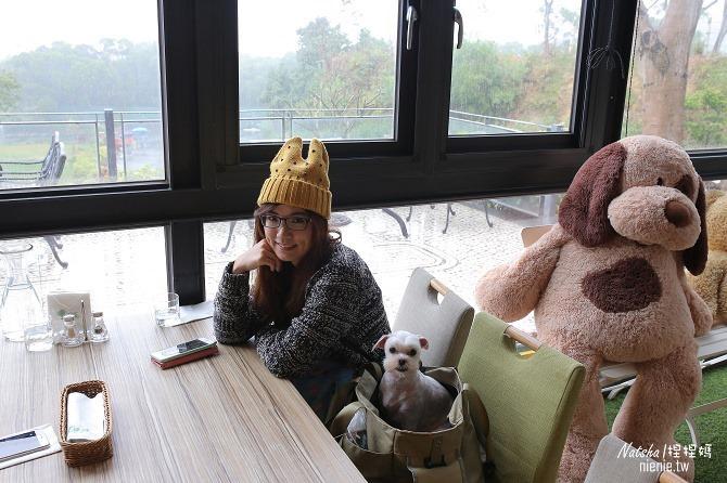 寵物友善餐廳│新竹香山美食│綠鏡景觀餐廳~景觀大道上擁有大片草皮的玻璃屋餐廳03